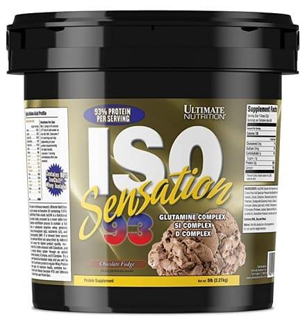 Ultimate-Nutrition-ISO-Sensation-93-protein-powder